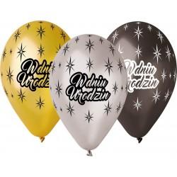 """Balony Premium """"W dniu urodzin"""""""