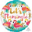 Balon foliowy Flamingi 18 cali 45 cm