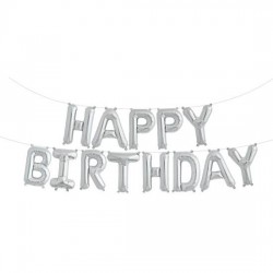 Girlanda balonowa HAPPY BIRTHDAY 35cm x 340cm