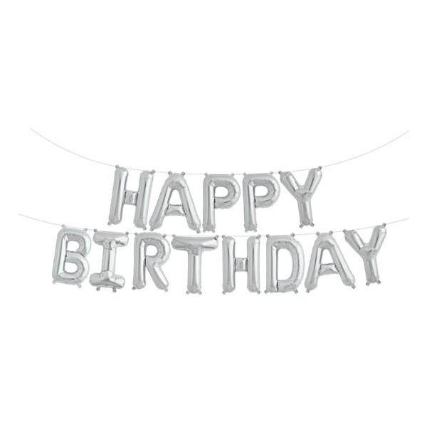Girlanda balonowa HAPPY BIRTHDAY 35cm x 340cm