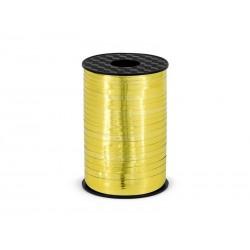 Wstążka złota błyszcząca 0.5cmx225m