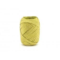 Wstążka złota brokatowa 0.5cmx10m