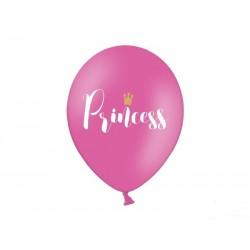 Balony Princess Księżniczka 30cm 6szt