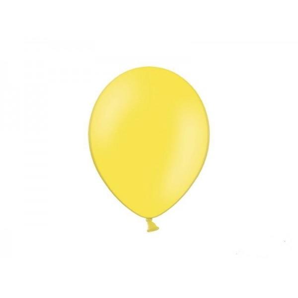 Balony pastelowe żółte 27 cm 50 szt