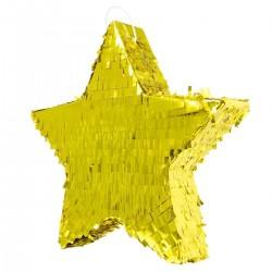 Piniata Gwiazda złota metaliczna 45x45x9cm