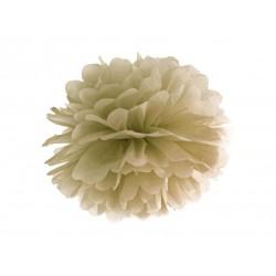 Pompon bibułowy 35 cm złoty