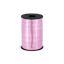 Wstążka różowa błyszcząca 0.5cmx225m