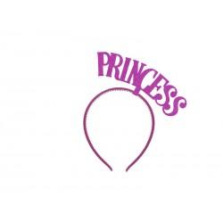 Opaska Princess Księżniczka ciemnoróżowa