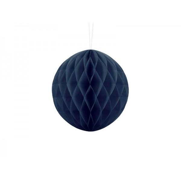 Kula bibułowa granatowa 20cm