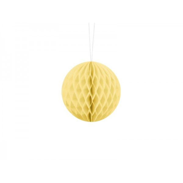 Kula bibułowa słomkowa 10cm