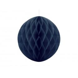 Kula bibułowa granatowa 30cm