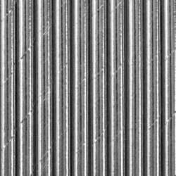 Słomki papierowe srebrne metaliczne 19,5cm 10szt