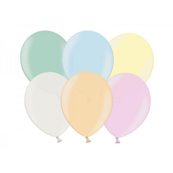 Balony metaliczne perłowy mix 10cali 26cm 100szt