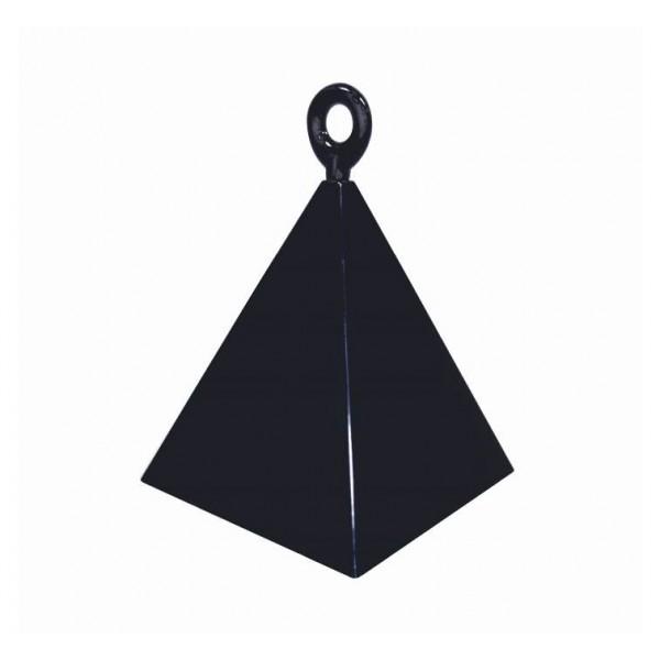 Ciężarek piramida czarna 128g