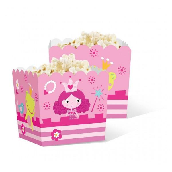 Pudełka na popcorn/słodycze Księżniczka 5szt