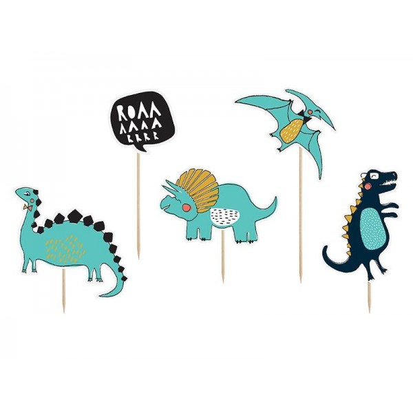 Toppery Dinozaury Dino Party 10,5-20cm 5szt
