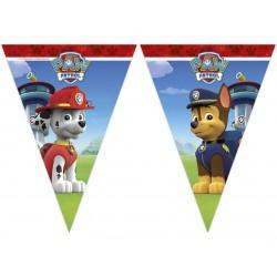 Baner urodzinowy Psi Patrol flagi 230cm