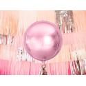 Balon foliowy Kula jasny różowy 40cm
