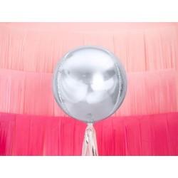 Balon foliowy Kula srebrny 40cm