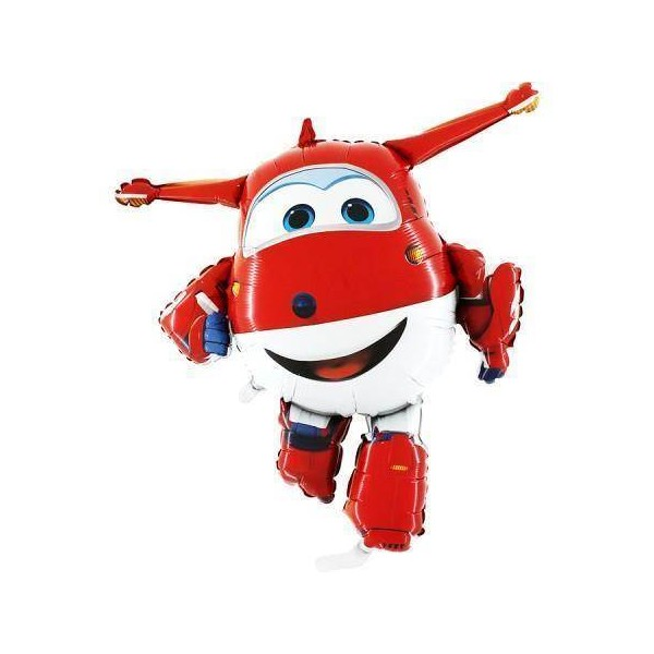 Balon foliowy Super Wings Dżetek