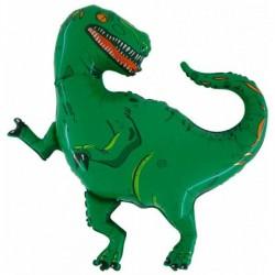 Balon foliowy Dinozaur zielony 100x105cm