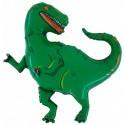 Balon foliowy Dinozaur Tyranozaur zielony 100x105cm