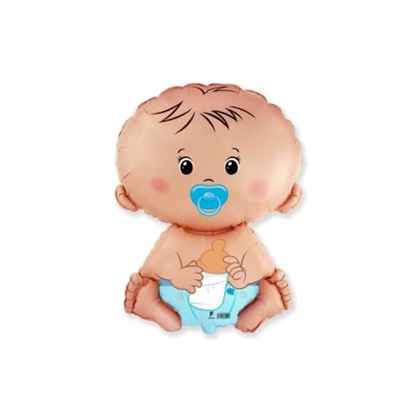 Balon foliowy Bobas Chłopiec 46x66cm