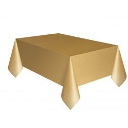 Obrus foliowy złoty 137x274cm