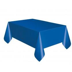 Obrus plastikowy niebieski 137x274cm