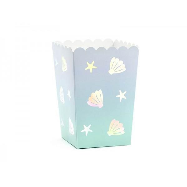 Pudełka na popcorn/słodycze Narwal 6szt