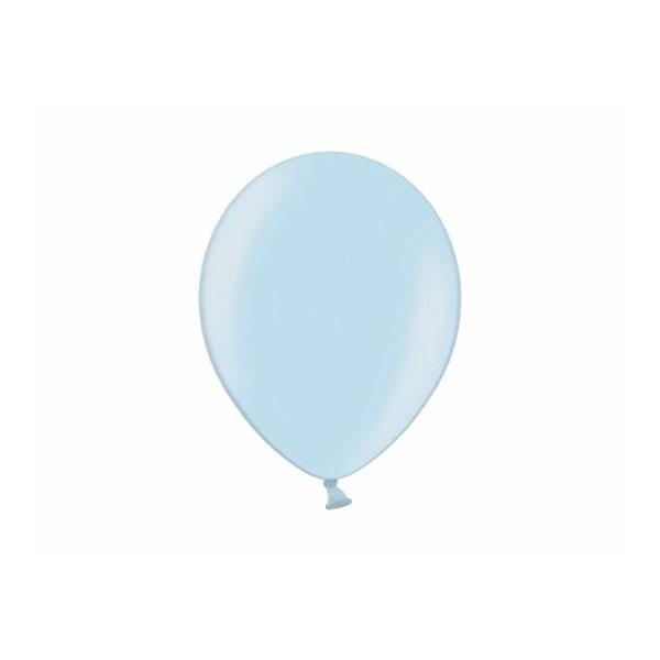 Balony metaliczne Light Blue 12cali 30cm 100szt