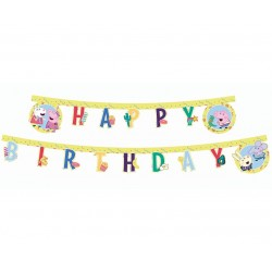 Banner Peppa Pig - Happy Birthday 230cm