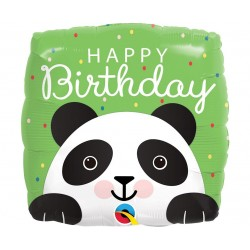 Balon foliowy Panda Happy Birthday 18cali 46cm