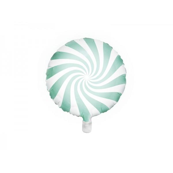 Balon foliowy cukierek miętowy 45cm