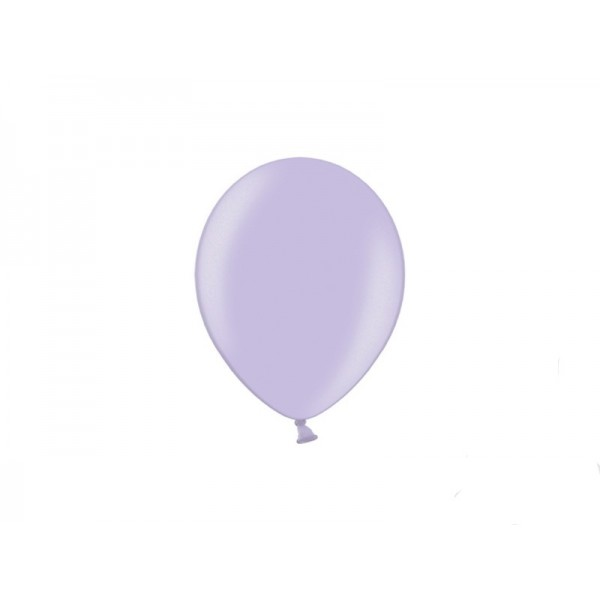Balony metaliczne liliowe 5cali 12cm 100szt Strong