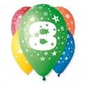 Balony na 8 urodziny 12cali 30cm 5szt