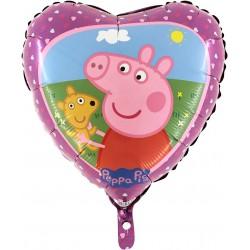 Balon foliowy Świnka Peppa 18cali 46cm