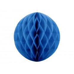 Kula bibułowa niebieska 30cm