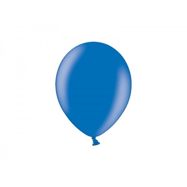 Balony metaliczne niebieskie 11cali 27cm 100szt