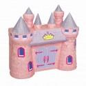 Piniata Zamek różowy 37x42cm