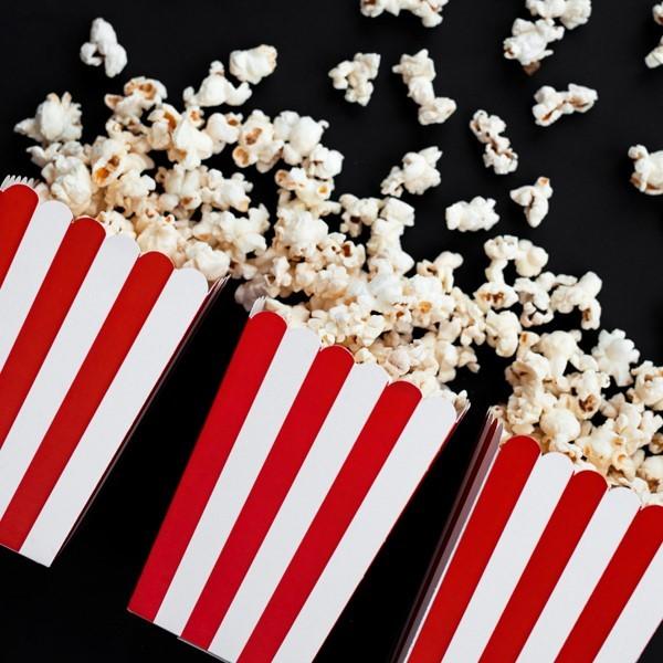 Pudełka na popcorn/słodycze 6szt