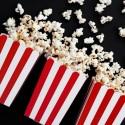 Pudełka Paski na popcorn/słodycze 6szt