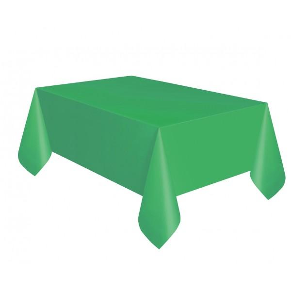 Obrus plastikowy zielony 137x274cm