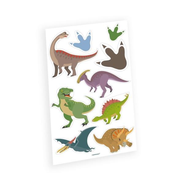 Tatuaże zmywalne Dinozaury 9szt