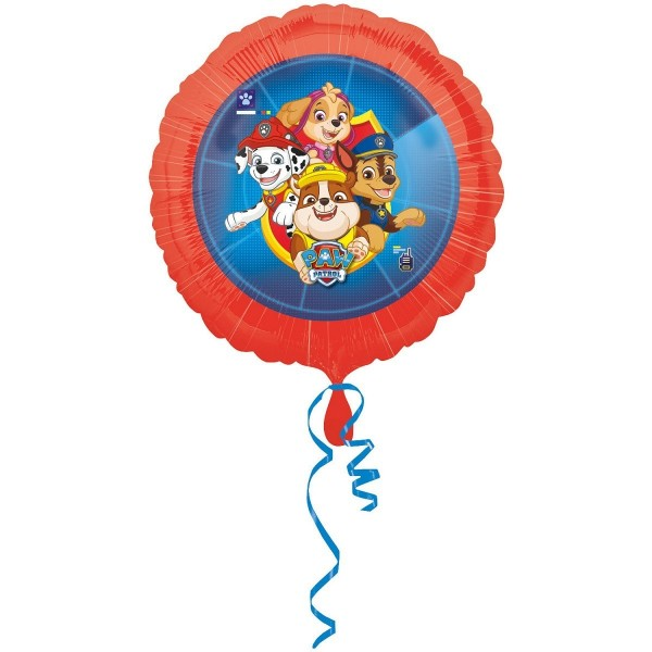 Balon foliowy Happy Birthday Psi Patrol 18cali 45cm