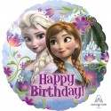 Balon foliowy Happy Birthday Kraina Lodu 18cali 46cm