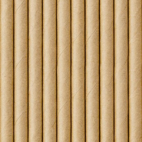 Słomki papierowe Kraft 19,5cm 10szt