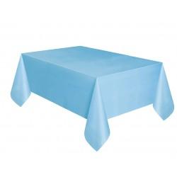 Obrus plastikowy jasnoniebieski 137x274cm