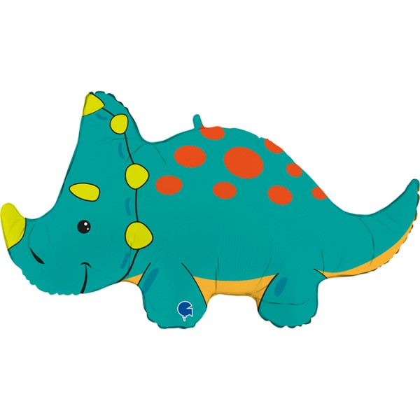 Balon foliowy Dinozaur Triceratops 36cali 91cm