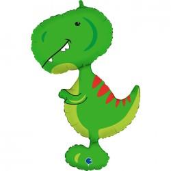 Balon foliowy Dinozaur Dino Tyrannosaurus  38cali 97cm